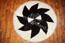 Sch�n schwarz und wei� Teppich- Gerberei Polen